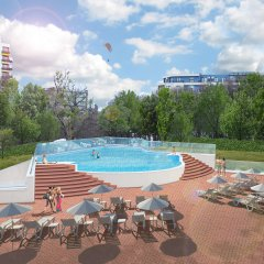Hotel Grifid Foresta - All Inclusive Adults Only 16+ бассейн