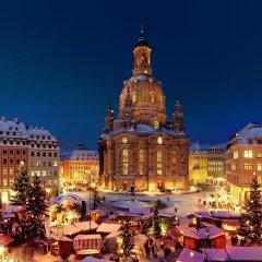 Отель Holiday Inn Express Dresden City Centre городской автобус