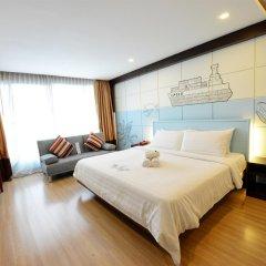 Отель Vacio Suite Бангкок комната для гостей