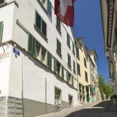 Отель Kindli Швейцария, Цюрих - отзывы, цены и фото номеров - забронировать отель Kindli онлайн вид на фасад