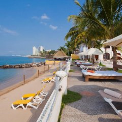 Отель Plaza Pelicanos Grand Beach Resort пляж фото 2
