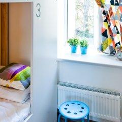 Хостел Graffiti L Кровать в женском общем номере с двухъярусной кроватью фото 7