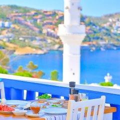 Zinbad Hotel Kalkan Турция, Калкан - 1 отзыв об отеле, цены и фото номеров - забронировать отель Zinbad Hotel Kalkan онлайн балкон
