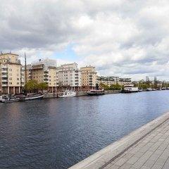 Апартаменты Apartments by Ligula Hammarby Sjöstad Стокгольм приотельная территория