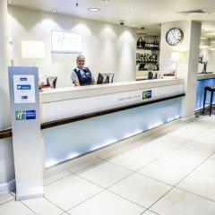 Отель Holiday Inn Express Manchester CC - Oxford Road Великобритания, Манчестер - отзывы, цены и фото номеров - забронировать отель Holiday Inn Express Manchester CC - Oxford Road онлайн интерьер отеля фото 2