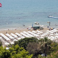 Crystal Sunset Luxury Resort & Spa Турция, Сиде - 1 отзыв об отеле, цены и фото номеров - забронировать отель Crystal Sunset Luxury Resort & Spa - All Inclusive онлайн пляж фото 2