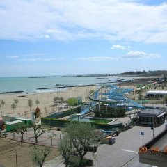 Отель Residence Maryel Италия, Римини - отзывы, цены и фото номеров - забронировать отель Residence Maryel онлайн пляж