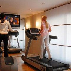 Отель Crowne Plaza Hannover фитнесс-зал