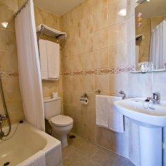 Отель Hostería Miguel Ángel ванная