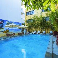 Hai Au Boutique Hotel & Spa бассейн фото 2
