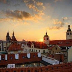 Отель Grand Bohemia Прага балкон
