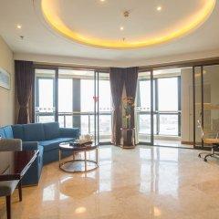 Отель Golden Tulip Suzhou Residence комната для гостей фото 3