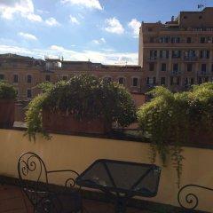 Отель Principe Di Piemonte Рим вид на фасад