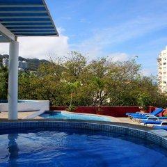 Отель Suites Plaza Del Rio Пуэрто-Вальярта бассейн