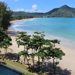 Отель Novotel Phuket Kamala Beach пляж