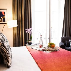Отель Hôtel Vernet Франция, Париж - 3 отзыва об отеле, цены и фото номеров - забронировать отель Hôtel Vernet онлайн комната для гостей фото 3