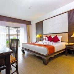 Отель Nipa Resort 4* Номер Делюкс с разными типами кроватей фото 4