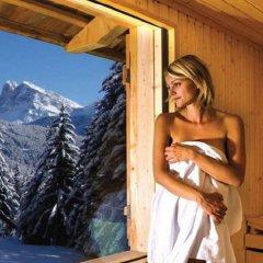 Отель Forestis Dolomites сауна