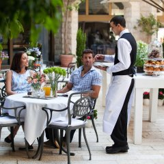 The Inbal Jerusalem Израиль, Иерусалим - отзывы, цены и фото номеров - забронировать отель The Inbal Jerusalem онлайн питание