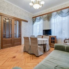 Апартаменты Ludwig Apartments on 4-ya liniya комната для гостей фото 4