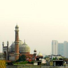 Hotel Tara Palace Chandni Chowk Нью-Дели приотельная территория