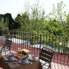 Отель Azienda Agrituristica Costa dei Tigli Костиглиоле-д'Асти балкон