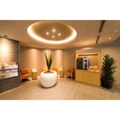 Отель Dormy Inn Tokyo-Hatchobori Natural Hot Spring комната для гостей