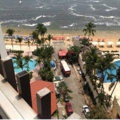 Отель Condominios La Palapa пляж