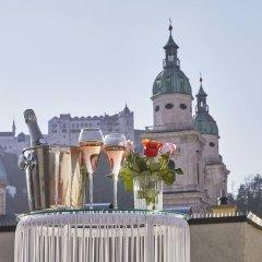 Small Luxury Hotel Goldgasse Зальцбург приотельная территория