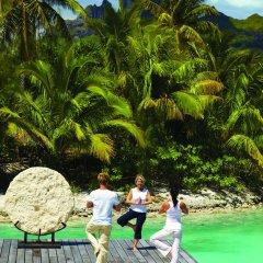 Отель Four Seasons Resort Bora Bora Французская Полинезия, Бора-Бора - отзывы, цены и фото номеров - забронировать отель Four Seasons Resort Bora Bora онлайн фитнесс-зал фото 2