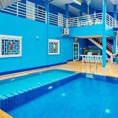 Отель Blue House Beach бассейн