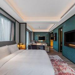 Отель Indigo Shanghai Hongqiao Китай, Шанхай - отзывы, цены и фото номеров - забронировать отель Indigo Shanghai Hongqiao онлайн комната для гостей фото 2