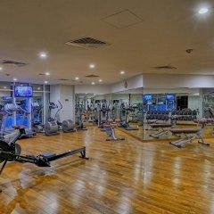 Ghaya Grand Hotel фитнесс-зал