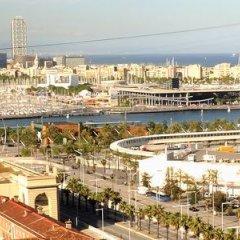 Отель Crowne Plaza Barcelona - Fira Center Испания, Барселона - 3 отзыва об отеле, цены и фото номеров - забронировать отель Crowne Plaza Barcelona - Fira Center онлайн пляж фото 2