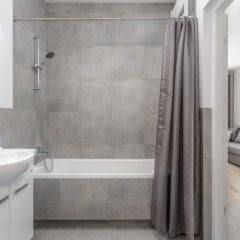 Апартаменты Chill Apartments Zoliborz ванная