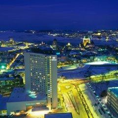 Отель Hilton Québec Канада, Квебек - отзывы, цены и фото номеров - забронировать отель Hilton Québec онлайн балкон