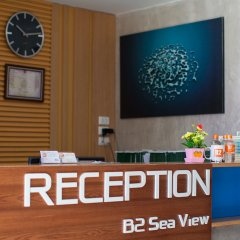 B2 Sea View Pattaya Boutique & Budget Hotel интерьер отеля фото 2