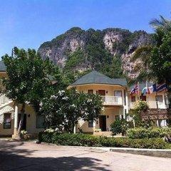 Отель Golden Beach Resort парковка