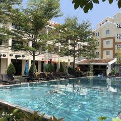 Отель Thanh Binh Riverside Hoi An Вьетнам, Хойан - отзывы, цены и фото номеров - забронировать отель Thanh Binh Riverside Hoi An онлайн бассейн фото 3