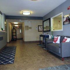Отель Candlewood Suites Columbus Airport США, Гаханна - отзывы, цены и фото номеров - забронировать отель Candlewood Suites Columbus Airport онлайн интерьер отеля фото 2
