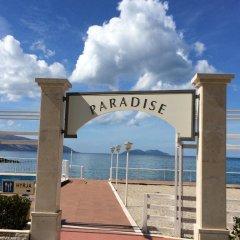 Отель Paradise Beach пляж