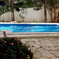 Отель Las Golondrinas Плая-дель-Кармен бассейн