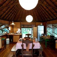 Отель Motu Mapeti - Tahiti Private Island питание фото 2