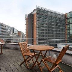 Отель NH Brussels EU Berlaymont Бельгия, Брюссель - 4 отзыва об отеле, цены и фото номеров - забронировать отель NH Brussels EU Berlaymont онлайн балкон