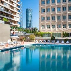 Отель Tryp Madrid Chamartin Испания, Мадрид - 1 отзыв об отеле, цены и фото номеров - забронировать отель Tryp Madrid Chamartin онлайн бассейн фото 3