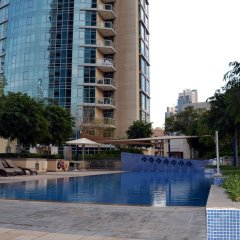 Отель City Nights - 3B Villa City View бассейн