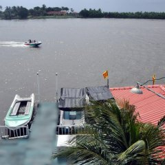 Отель Luthmin River View Hotel Шри-Ланка, Бентота - отзывы, цены и фото номеров - забронировать отель Luthmin River View Hotel онлайн пляж