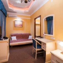 Мини-Отель Комфитель Александрия 3* Стандартный номер с двуспальной кроватью фото 13
