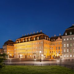 Hotel Taschenbergpalais Kempinski Dresden вид на фасад фото 5