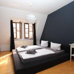 Апартаменты Boutique Apartments Leipzig комната для гостей фото 3